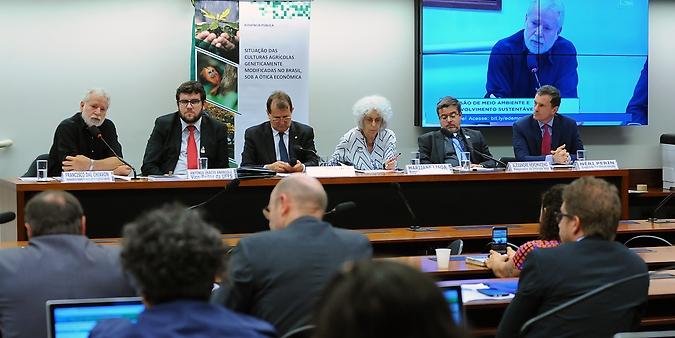 Audiência pública sobre a situação das culturas agrícolas geneticamente modificadas no Brasil, sob a ótica econômica