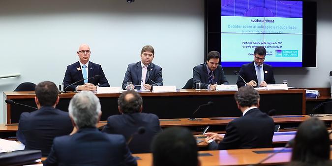Audiência pública para debater sobre a recuperação judicial da operadora Oi