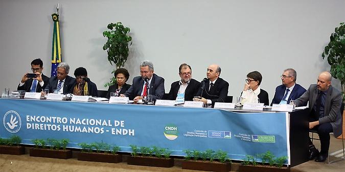Encontro Nacional de Direitos Humanos estabelece pauta prioritária para o setor