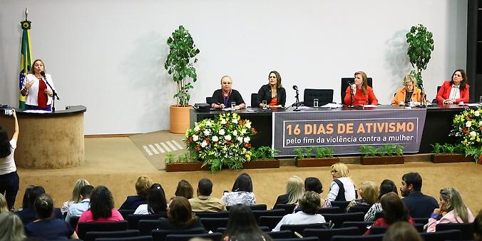 Abertura da Campanha 16 Dias de Ativismo e Seminário Boas Práticas no Combate à Violência contra a Mulher