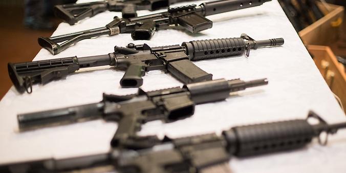 Segurança - armas - apreensão fuzis
