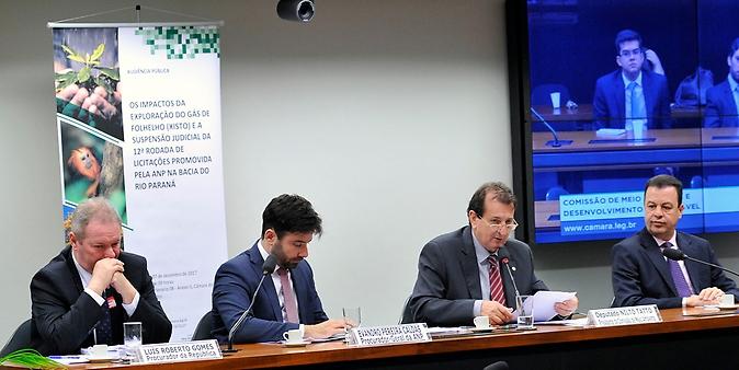 Audiência pública sobre os Impactos da Exploração do Gás de Folhelho (Xisto) e a Suspensão Judicial da 12ª Rodada de Licitações promovida pela ANP na Bacia do Rio Paraná