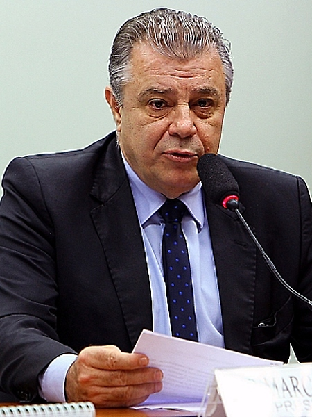 Reunião de instalação da comissão e eleição do novo presidente. Dep. Marco Tebaldi (PSDB - SC)