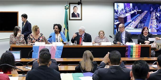 Audiência pública sobre a agenda legislativa pelos direitos LGBTI+, em especial o Projeto de Lei Dandara, nº 7.292/2017