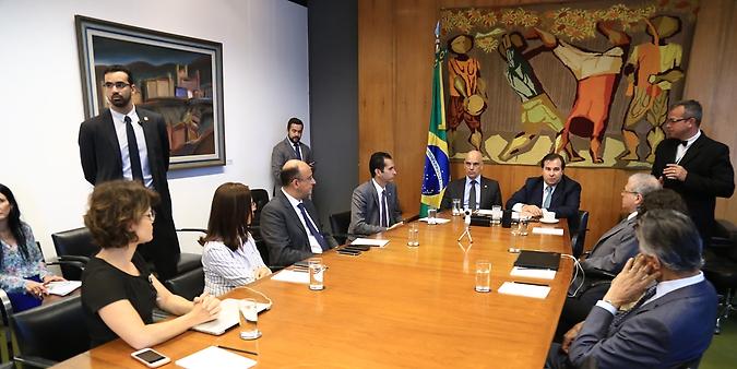 Reunião da Comissão de Juristas que irá propor nova lei contra tráfico de armas e drogas.