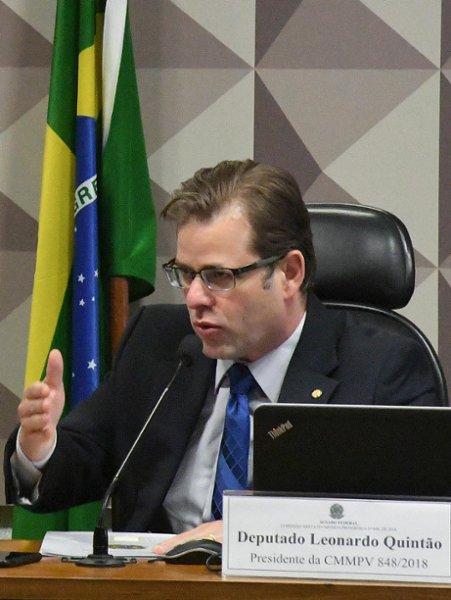 Comissão Mista da Medida Provisória 848/18 (recursos do FGTS para crédito a hospitais filantrópicos), realiza reunião para apreciação de relatório. Relator da MP, senador Lasier Martins; e presidente comissão, deputado Leonardo Quintão