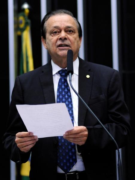Sessão preparatória para eleição da Mesa Diretora. Dep. Jovair Arantes (PTB-GO)