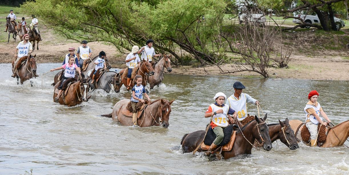 Marcha de Resistência do Cavalo Crioulo, no Rio Grande do Sul
