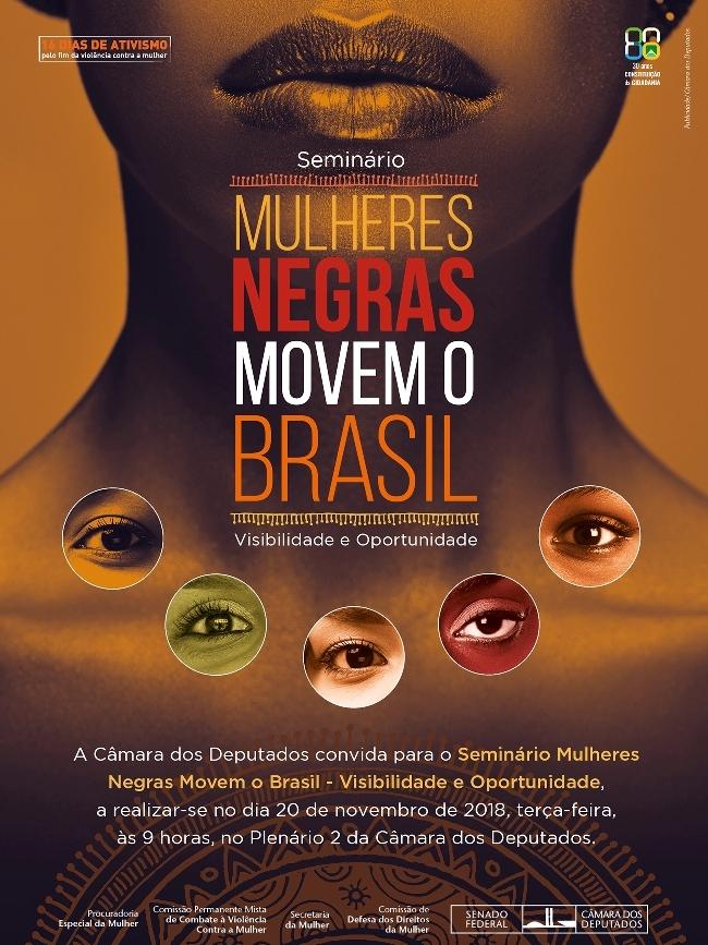 Seminário Mulheres Negras Movem o Brasil - Invisibilidade e Oportunidade