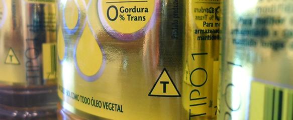 símbolo da transgenia em rótulos de produtos