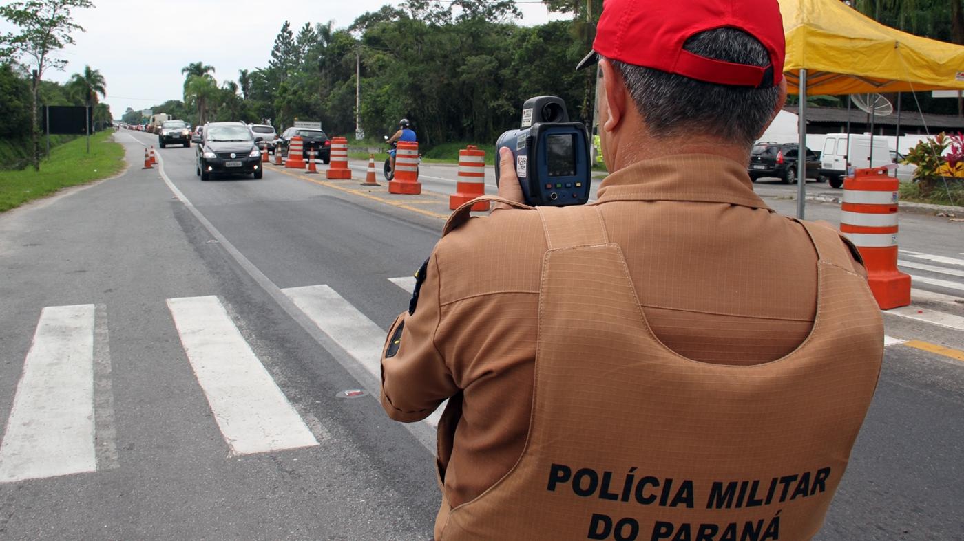 Guilherme Batalha/Polícia Militar Rodoviária do Paraná