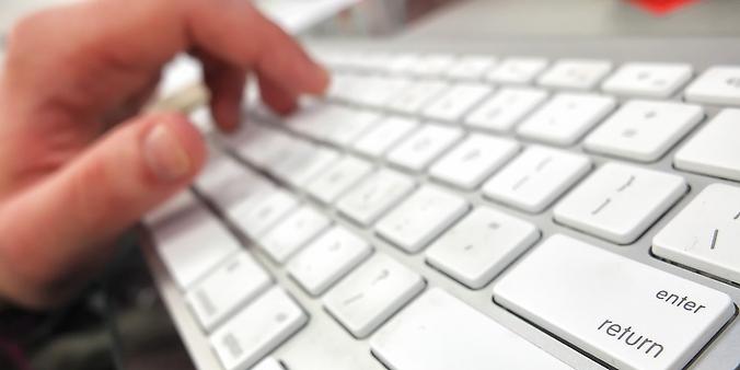 Comunicação - Internet - virtual teclado computador
