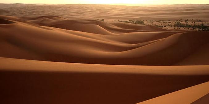Líbia - Deserto