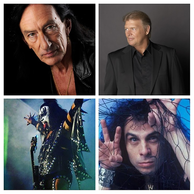 Programa Memória do Rock - Montagem Ronnie James Dio, Ken Hensley, John Farnham e Gene Simmons
