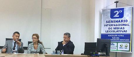 Cleber Verde, Evelin Maciel e Sergio Figueiredo