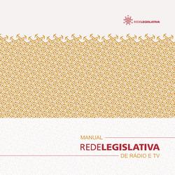 Manual da Rede Legislativa - 2a. edição