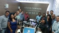 Rádio Câmara entra no ar na Bahia