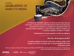 Seminário discute integração das emissoras da Rede Legislativa
