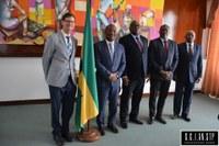 O Embaixador do Canadá, Paul Gibbard, encontrou-se esta terça-feira, 4 de fevereiro, com o Presidente da Assembleia Nacional , Delfim Santiago das Neves.