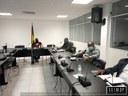 A PRIMEIRA COMISSÃO DO PARLAMENTO REÚNE-SE EM SESSÃO DE TRABALHOS