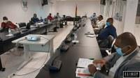 A Primeira Comissão realiza um encontro de Trabalho