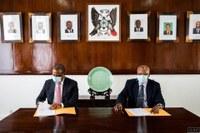 Com Assinaturas do Presidente Delfim Neves e do Coordenador Sub-Regional Hélder Muteia FAO FINANCIA PROJECTO DA ALIANÇA PARLAMENTAR CONTRA FOME DE STP