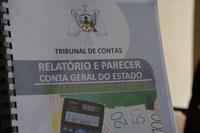 Entregue pelo Tribunal de Contas PRESIDENTE DELFIM NEVES RECEBE PARECER SOBRE CONTAS DO ESTADO DE 2017