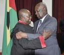 José Bandeira recebido pelo Presidente da ANSTP