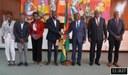 O Presidente da Assembleia Nacional, Delfim Neves, encontrou-se, com o Presidente da Federação Académica de São Tomé e Príncipe