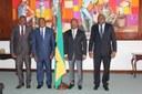O Presidente da Assembleia Nacional Recebe o Representante Especial do Secretário-Geral das Nações Unidas