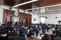 Os deputados aprovaram o voto de pesar e de solidariedade para com as vítimas do naufrágio do navio Anfrititi