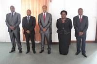 Os Juízes do Tribunal Constitucional Empossados Pelo Presidente da Assembleia