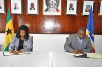 Parlamentos santomense e cabo-verdiano formalizam Programa de Cooperação