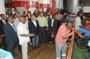 Parte social da visita da comitiva timorense