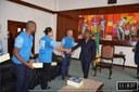Presidente da Assembleia Nacional Delfim Santiago das Neves, recebeu o Administrador Delegado da CST