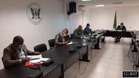 PRESIDENTE DA ASSEMBLEIA NACIONAL REUNIU-SE COM ALIANÇA PARLAMENTAR