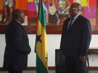 Presidente do Parlamento encontrou-se com Presidente do Supremo Tribunal
