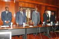 Sessão Solene de Boas-Vindas em honra do Presidente da ANA