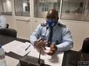 Sobre Violência e Sinistralidade  QUINTA COMISSÃO AUSCULTA COMANDANTE GERAL DA POLÍCIA