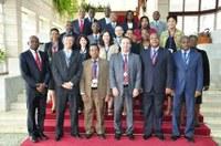 Término do II Encontro Interparlamentar de Quadros das Áreas de Relações Internacionais dos Parlamentos da CPLP