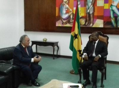Audiência com o Embaixador de Portugal