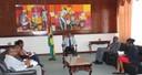 Audiência com a Organização Nacional de Trabalhadores de São Tomé e Príncipe