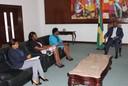 Audiência com o Instituto Nacional para Promoção de Igualdade e Equidade de Género