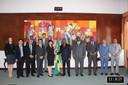 Recepção da delegação da Missão FMI