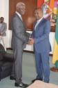 Audiência com o Presidente do Governo Regional do Príncipe