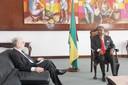 Audiência com o Embaixador do Brasil