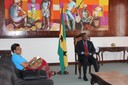 Audiência de Cortesia com a Embaixadora de São Tomé e Príncipe na República da Guiné-Equatorial
