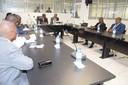 Reunião com a 1ª Comissão Especializada